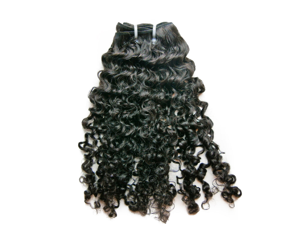 "Curly ""Luchi"" Natural Hair Drawstring Ponytail - Curly2Kinky"