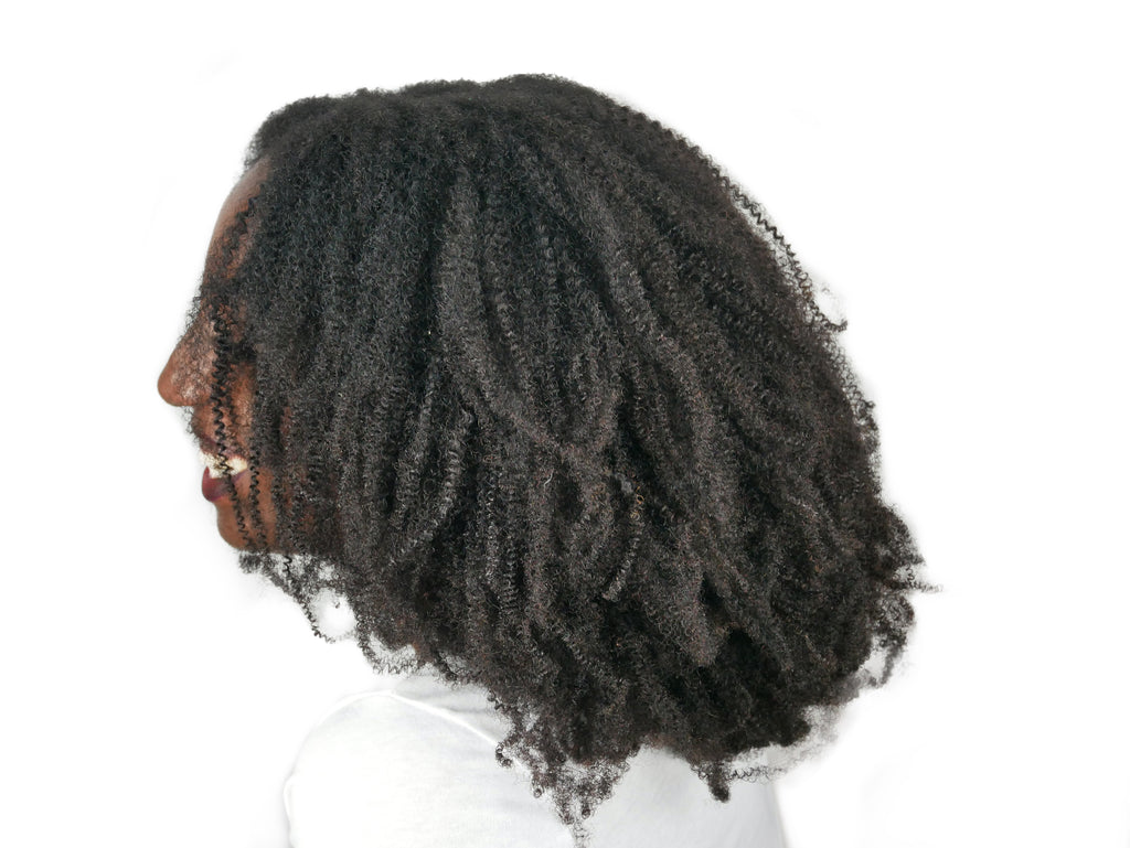 4c Natural Hair Extension Wefts - Curly2Kinky