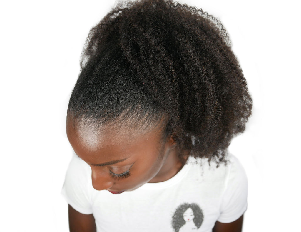 4c Drawstring Ponytail - Curly2Kinky