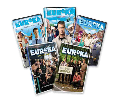 Eureka The Complete Series 18 Dvd Sci-Fi Syfy Seasons 1 2 3 4 5 USA Retail