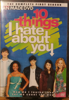 10 Things I Hate About You The Complete Series On 2 Dvd's Larry Miller Lindsey Shaw Meaghan Jette