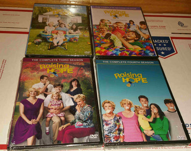 Raising Hope Complete Series Seasons 1 2 3 4 Usa Retail 12 Dvd Set