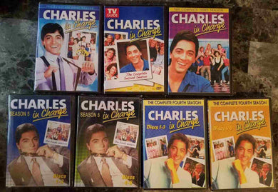 Charles In Charge Complete Tv Series 5 Seasons 1 2 3 4 5 21 Dvd Set Retail OOP