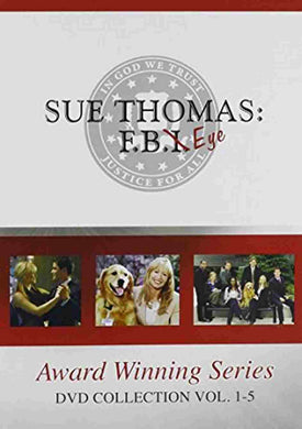 Sue Thomas F.B. Eye (FBI) COMPLETE SERIES 3 SEASONS 5 VOLUMES 15 DVD'S USA RETAIL