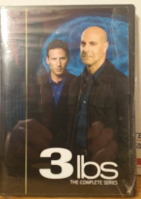 3LBS THREE POUNDS  THE COMPLETE TV SERIES ON 1 DVD Stanley Tucci Mark Feuerstein Indira Varma