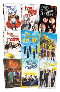 How I Met Your Mother Complete Series Seasons 1-2-3-4-5-6-7-8-9 USA Retail 27 DVD Set 208 episodes