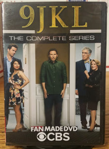 9JKL (2017) THE COMPLETE TV SERIES ON 2 DVD'S Mark Feuerstein Linda Lavin Elliott Gould