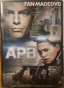 APB A.P.B.(2017)THE COMPLETE SERIES 2 DVD'S Justin Kirk Natalie Martinez Taylor Handley Tamberla