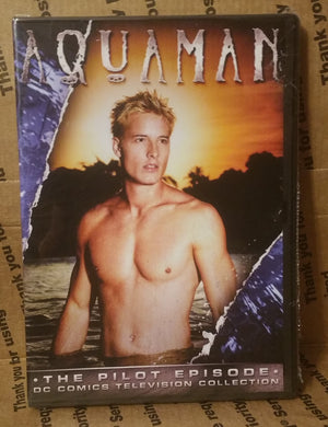 AQUAMAN 2006 THE UNAIRED PILOT ON DVD