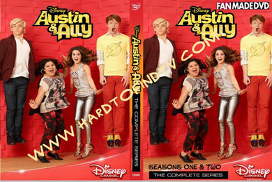 Austin & Ally 2011 DVD The Complete TV Series Disney Ross Lynch Laura Marano Raini Rodriguez