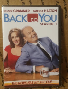 Back To You 2007 The Complete Tv Series On Dvd Usa Retail