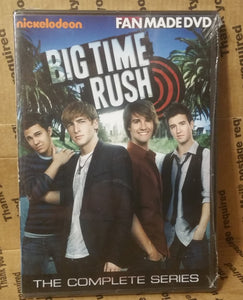 Big Time Rush 2009 The Complete Tv Series On Dvd + Movie nickelodeon[RETAIL/FANMADE mixed]