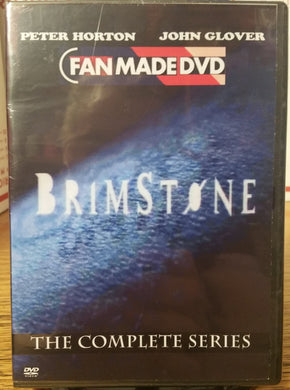 BRIMSTONE (1998) THE COMPLETE TV SERIES ON DVD Peter Horton John Glover Teri Polo Lori Petty