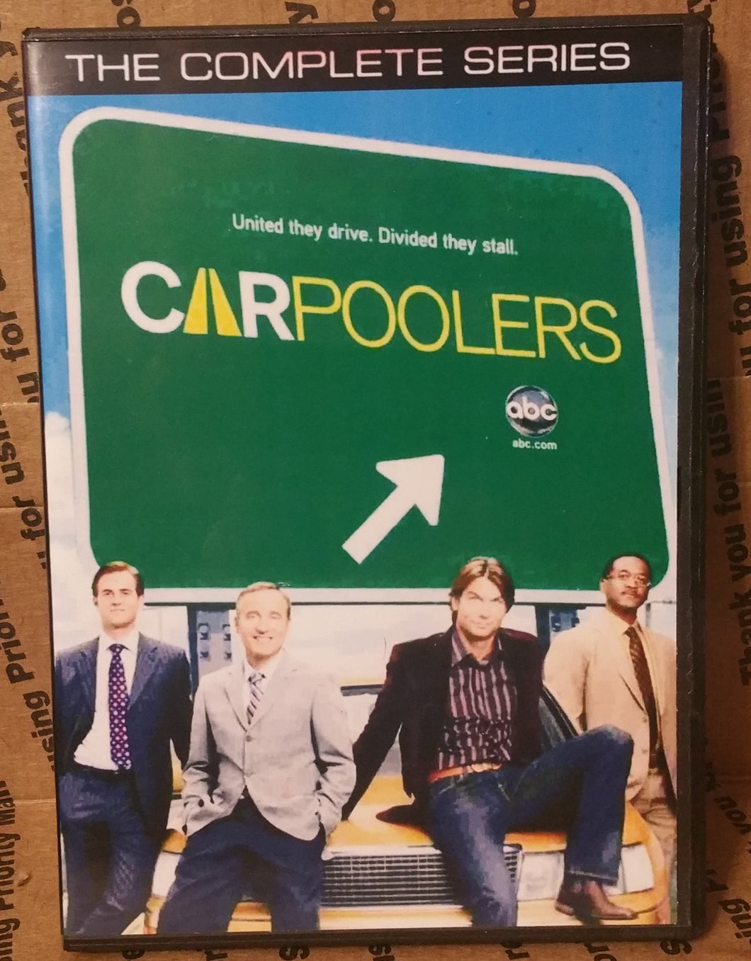 Carpoolers 2007 The Complete Series Dvd Fred Goss Jerry O'connell Faith Ford Jerry Minor Tim Peper