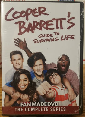 Cooper Barrett's Guide to Surviving Life(2016)THE COMPLETE TV SERIES ON 1 DVD Jack Cutmore-Scott