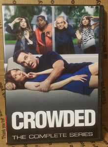 CROWDED 2016 THE COMPLETE TV SERIES ON DVD Patrick Warburton Miranda Cosgrove