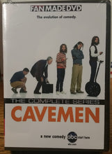 Load image into Gallery viewer, Cavemen 2007 THE COMPLETE TV SERIES 13 EPISODES ON 1 DVD Bill English Nick Kroll