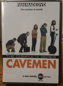 Cavemen 2007 THE COMPLETE TV SERIES 13 EPISODES ON 1 DVD Bill English Nick Kroll