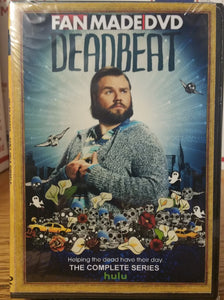 DEADBEAT (2014) THE COMPLETE TV SERIES 36 EPISODES ON 3 DVD'S Tyler Labine Brandon T. Jackson
