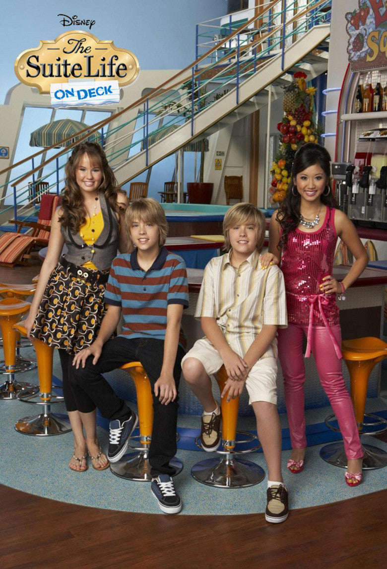 The Suite Life on Deck The Complete TV Series On DVD Dylan Sprouse Cole Sprouse Brenda Song Debby Ryan