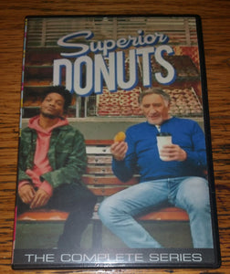Superior Donuts 2017 THE COMPLETE SERIES ON DVD Judd Hirsch Katey Sagal  RETAIL/FANMADE MIXED