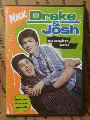 DRAKE AND JOSH 2004 THE COMPLETE TV SERIES ON DVD + 3 MOVIES Miranda Cosgrove nickelodeon