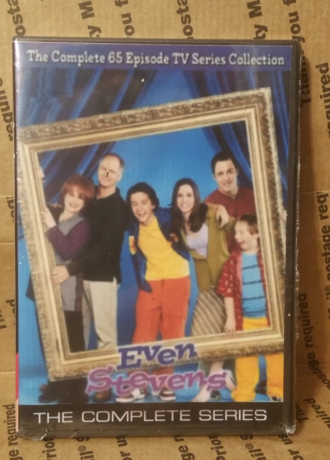 Even Stevens 2000 The Complete Series On Dvd Shia La Beouf Christy Carlson Romano Disney