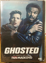 Load image into Gallery viewer, GHOSTED (2017) THE COMPLETE TV SERIES 16 EPISODES ON 1 DVD Craig Robinson Adam Scott Ally Walker