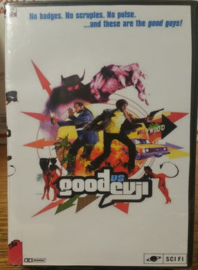 GOOD VS EVIL GOODvsEVIL GvsE (1999) THE COMPLETE TV SERIES 22 EPISODES ON 4 DVD'S Clayton Rohner
