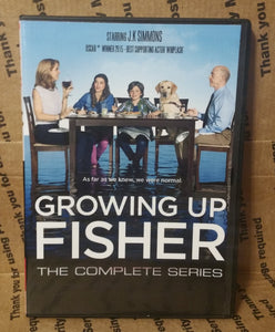 Growing Up Fisher 2014 THE COMPLETE TV SERIES ON DVD J.K. Simmons Jenna Elfman Eli Baker