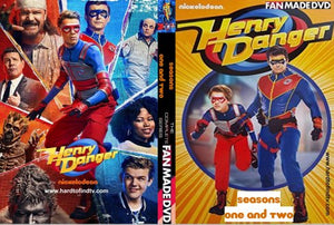 Henry Danger The Complete TV Series On DVD Riele Downs Cooper Barnes Jace Norman Ella Anderson