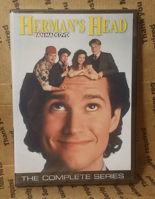 Hermans Head 1991 The Complete Tv Series On Dvd William Ragsdale Hank Azaria Jane Sibbett
