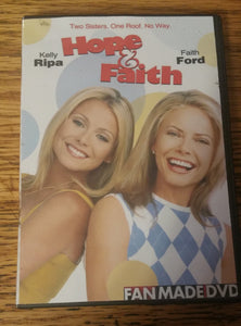 Hope & Faith (2003) The Complete Series On 8 Dvd's Faith Ford Kelly Ripa Megan Fox Ted Mcginley