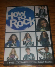 Load image into Gallery viewer, How to Rock 2012 THE COMPLETE SERIES ON 2 DVD'S Cymphonique Miller