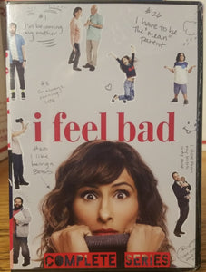 I FEEL BAD (2018) THE COMPLETE TV SERIES 13 EPISODES ON 1 DVD Sarayu Blue Paul Adelstein Aisling