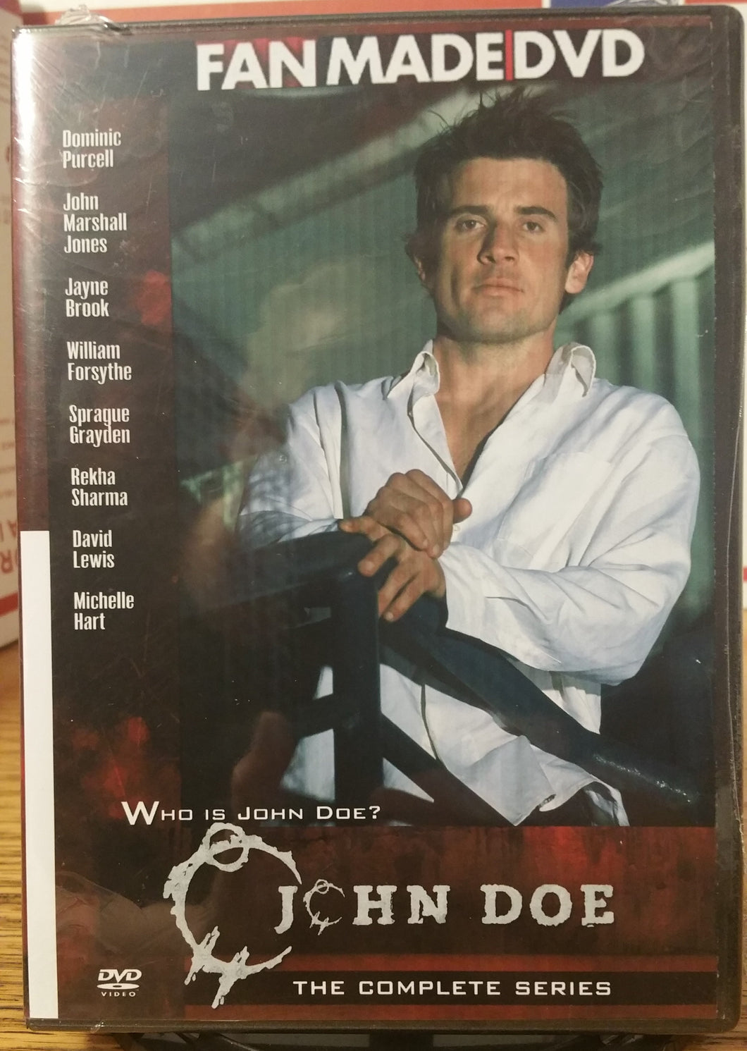 JOHN DOE (2002) THE COMPLETE TV SERIES 21 EPISODES ON 2 DVD'S Dominic Purcell Jayne Brook John