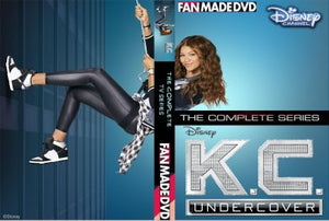 K.C. Undercover The Complete TV Series On DVD Zendaya Veronica Dunne Kadeem Hardison