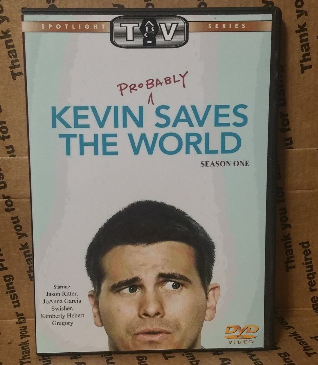 Kevin (Probably) Saves the World 2017 THE COMPLETE TV SERIES ON DVD Jason Ritter JoAnna Garcia