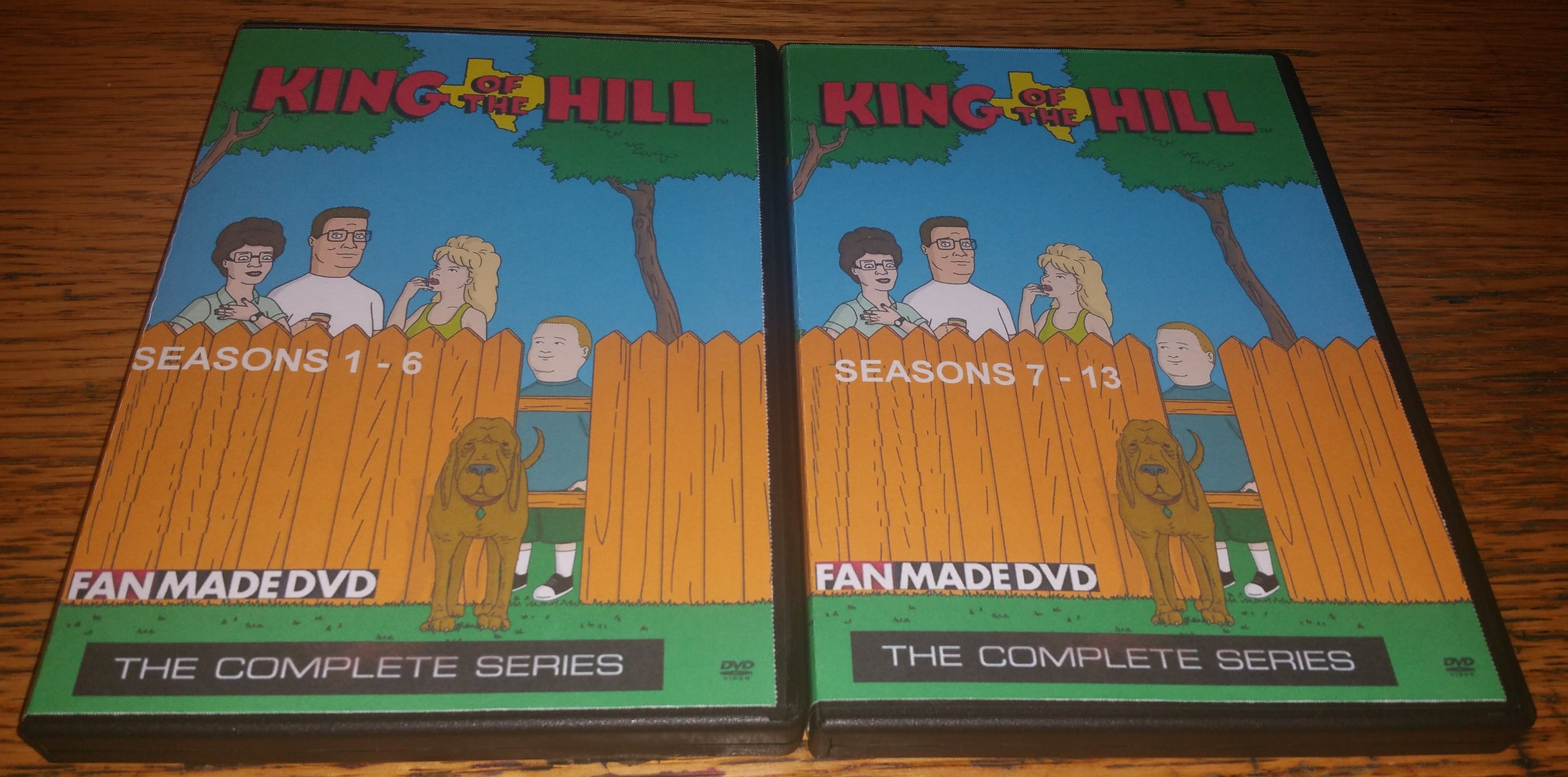 King of the Hill 1997 THE COMPLETE SERIES ON 13 DVD'S
