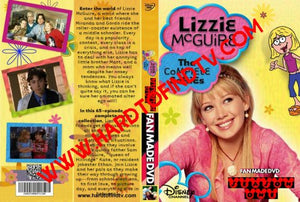 Lizzie Mcguire 2001 The Complete Tv Series + The Movie On 9 DVDs Disney Nickelodeon