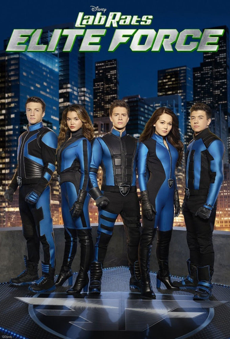 Lab Rats: Elite Force The Complete TV Series On DVD Jake Short Bradley Steven Perry Paris Berelc