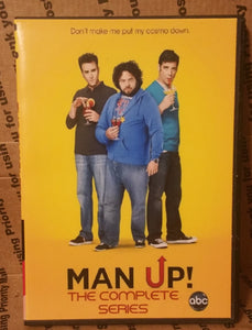 Man Up! 2011 THE COMPLETE TV SERIES ON DVD Christopher Moynihan Mather Zickel Dan Fogler Teri Polo