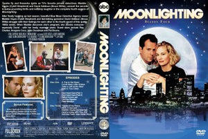 Moonlighting 1985 The Complete TV Series On DVD Cybill Shepherd Allyce Beasley Bruce Willis [USA RETAIL]