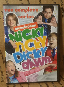 NICKY ,RICKY ,DICKY ,AND DAWN 2014 THE COMPLETE TV SERIES ON 8 DVD's