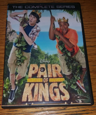 Pair of Kings 2010 Disney XD Complete TV Series On DVD Mitchel Musso Jason Dolley