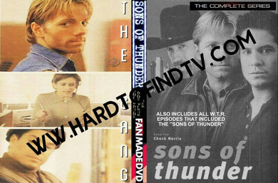 Sons of Thunder 1999 The Complete TV Series On 4 DVD's James Wlcek ,Marco Sanchez ,Alan Autry