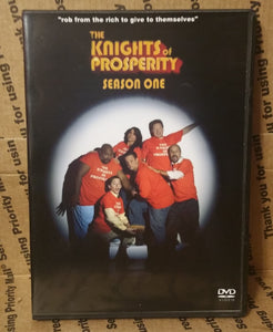 The Knights of Prosperity 2007 THE COMPLETE TV SERIES ON DVD Donal Logue Kevin Michael Richardson