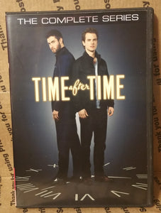 Time After Time 2017 THE COMPLETE TV SERIES ON DVD Freddie Stroma Joshua Bowman Génesis Rodríguez