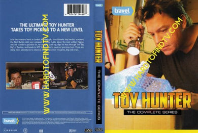 Toy Hunter 2012 2013 2014 The Complete TV Series On 4 DVD's 3 SEASONS Jordan Hembrough