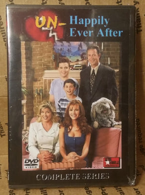 Unhappily Ever After 1995 The Complete Tv Series On 9 DVD's 100 Episodes Geoffrey Pierson Nikki Cox